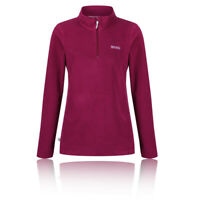 Regatta Womens Sweethart Half Zip Fleece Top - Pink Purple Sports Outdoors