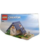 Lego Instruction Manual/booklet Creator 5891 House