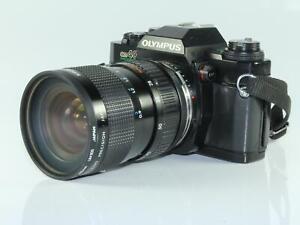 Olympus OM40 Program 35mm SLR Camera with Kiron 28-70 3.5 - 4.5 Macro Zoom Lens