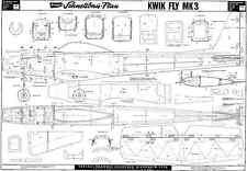 Graupner Kwik fli mk3 plans