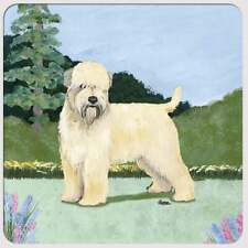 Soft Coated Wheaten Terrier Coasters - Set of 4