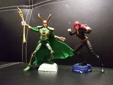 Playmation Marvel Avengers Loki Figure and Black Widow