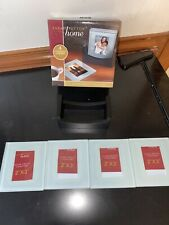 New listing Sarah Peyton Home Glass Photo Coasters New in Box