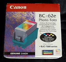 Photo canon BC-62e couleurs bj cartouche série BJC-7000 - véritable scellé
