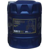 20 Liter Orignal MANNOL Motoröl Traktor Superoil API CD 15W-40  Engine Oil Öl