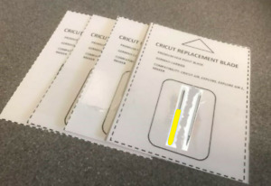 Deep Cut Blades 30°, Pack Of 2, For Cricut Machines (See Description) UK Seller