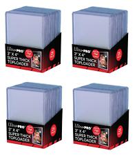 100 Ultra Pro 75 пинт 3x4 Toploaders толще верхний погрузчик толще карты бесплатная доставка!