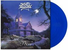 King Diamond 'Them' LP 140g Vinile Blu Royal Trasparente - Nuovo e Sigillato