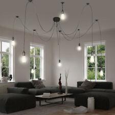 Design Aufhängung Decken Beleuchtung Textil Pendel Leuchte Wohn Zimmer Lampe E27