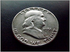 1951 Franklin Half Dollar Silver