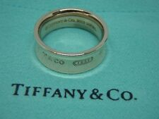 Tiffany & Co  1837 Rubedo Metal Wide 2012 Ring Band Size 5.5