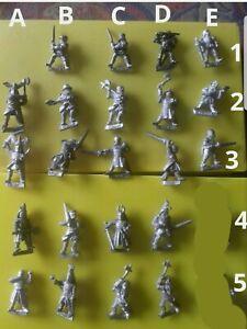 22x C26 F4 Bretonnian knight citadel gw men man-at-arms sword feudal knight