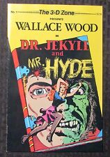 1987 Wallace Wally Wood 3-D Zone #1 DR JEKYLE And MR HYDE VF 8.0