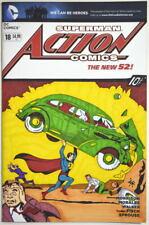 DC Sketch Cover Superman ACTION COMICS New 52 #18 Original Color Art Signed T K