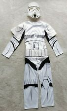 Star Wars Fancy Dress Deluxe Storm Trooper Costume Childrens Dressing Up 7-8yrs