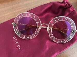 Gucci GG0113S Pink/Orange (004 BA) Sunglasses