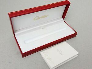 Pasha de Cartier  Fountain pen  Box With Paper Unused