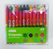 Pack of 48 wax crayons BNIB