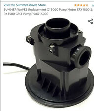 New listing Summer Waves Replacement Pump Sfx1500 & Rx1500 Gfci Pump P58X1500c