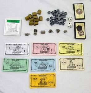Pirates of the Caribbean Monopoly Collector's Edition Replacement Parts Lot
