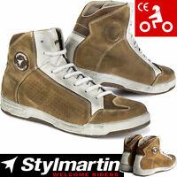 STYLMARTIN Motorradschuhe COLORADO Leder Sneaker CE Knöchelprotektoren Gr. 43