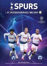Tottenham Hotspur (Spurs) v Inter Milan Official Wembley Programme 28th Nov 2018
