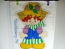 "Vintage Huckleberry Pie 15"" Cloth Doll Pattern 1980 Original American Greetings"