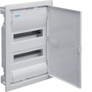 Hager Unterputz Verteiler Elektro Verteilung UP Kasten VU24 NC VU24 2 reihig NEU