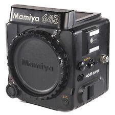 Mamiya M645 Super Body Only / 6x4.5 Medium Format Film SLR Camera (216444)