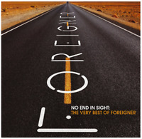 No End in Sight: The Very Best of Foreigner (2-CD) • NEW • Greatest Hits