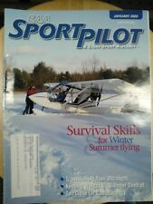 EAA SportPilot & Light-Sport Aircraft Magazine Complete 2005 year