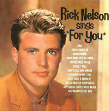RARE Vinyle RICK (Ricky) NELSON authentique !!!
