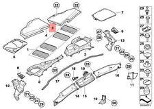Genuine BMW E82E E90 E92 Cabin Air Filter Housing Upper Right OEM 64316958816