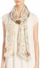 Eileen Fisher Silk Scarf Beige Natural Dyed 220$
