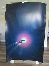 VERY RARE STAR TREK GENERATIONS HEAVY PAPER POSTER THEATER DISPLAY 4'X6'
