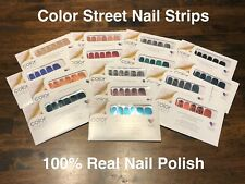 FAST Shipping!! ~ Color Street Nail Strips ~ 100% Nail Polish Strips