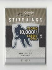 2009-10 OPC Premier Stitchings Thomas Vanek PATCH Sabres /199