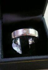 Mens Scott Kay Artiste Brute Cobalt BioBlu 27 wedding Diamond 14k ring $495 NWT