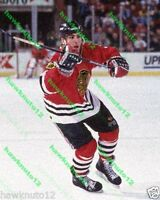 Chris Chelios CHICAGO BLACKHAWKS 8x10 color PHOTO hockey #C3gs7CV7