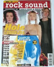 HOLE ROCK SOUND IMPORT MAGAZINE SEALED GRUNGE PUNK MARILYN MANSON Nirvana cd lp