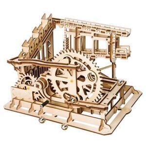 Robotime Marble Roller Coaster Clockwork Mechanical 3D Puzzle Game Gift UK Stock