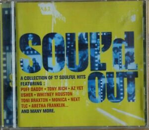 Soul'd Out - A Collection of 17 Soulful Hits  CD  VGC