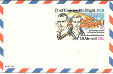 Estados Unidos. Entero Postal First Transpacific Flight