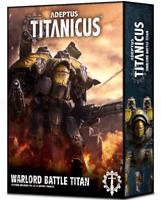 Warlord Titan Volcano Cannons Apocalypse Missiles Adeptus Titanicus Warhammer