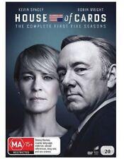 House Of Cards : Season 1-5 (DVD, 2017, 20-Disc Set)