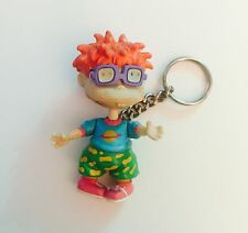 NICKELODEON RUGRATS KEYCHAIN CHUCKIE VIACOM 1997 Key Chain Removable Glasses!