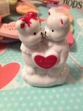 Teddy Bears Bear I Love You Heart Statue Cake Topper Brand New