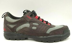 Lake Brown Leather Lace Up Mountain Bike Cycling Shoes Women's 38 / 6.5 - 7