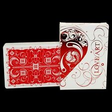 Love Art Deck (red/Limited Edition) Deck by bocopo. co poker juego de naipes