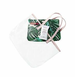 GWP Cosmetic Makeup TSA Clear Travel Bag | Dermstore Kiehls Milani Sephora ULTA
